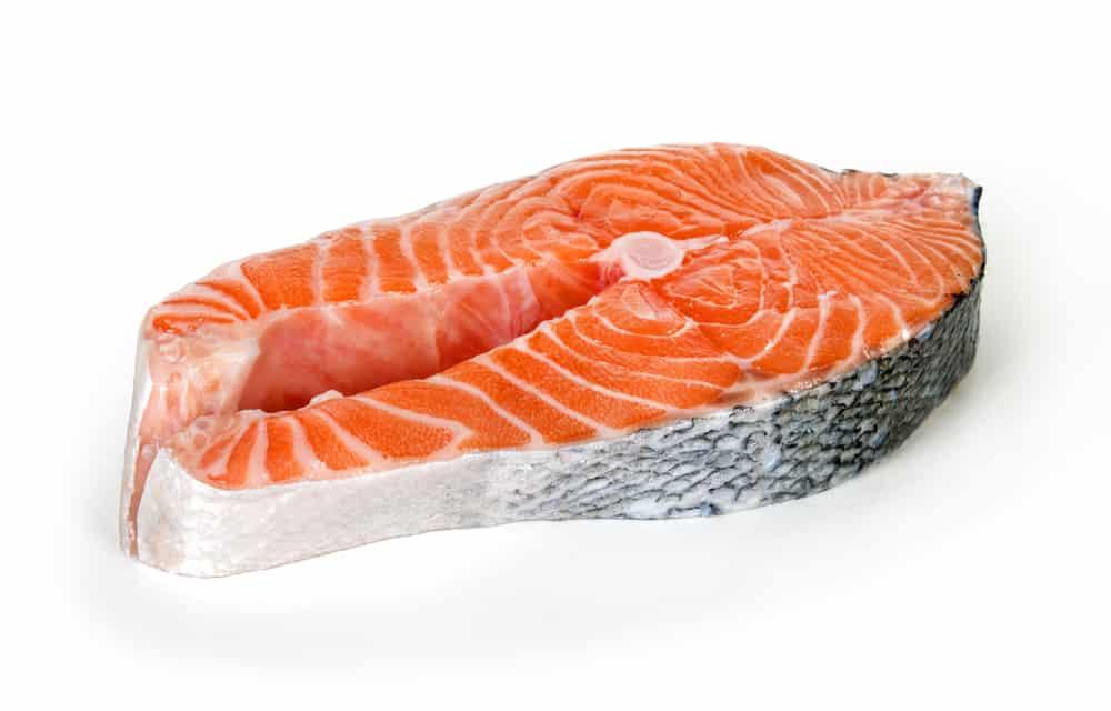 how to serve raw salmon