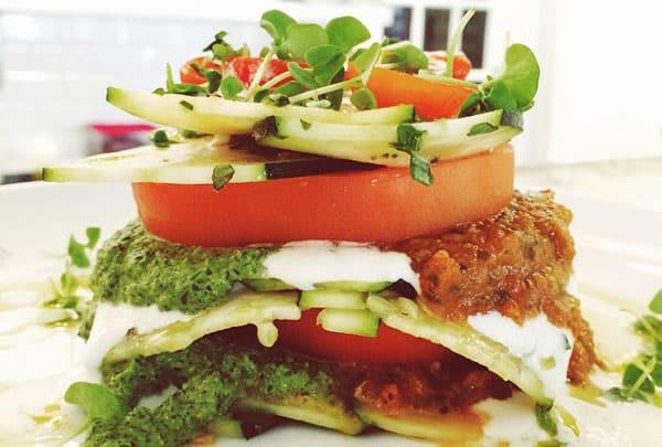 Harlan Kilstein's Keto Raw Zucchini Lasagna