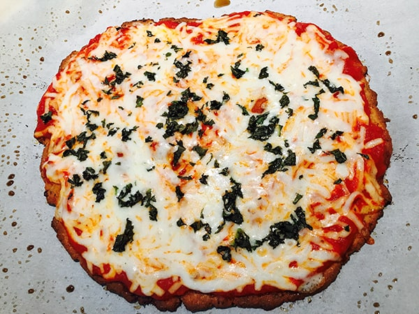 Photo of Harlan Kilstein's Version of Fathead Pizza