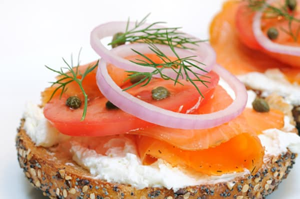 Photo of Harlan Kilstein's Completely Keto Bagel, Lox And Cream Cheese