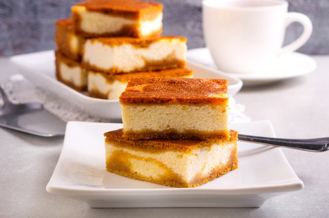 Harlan Kilstein's Completely Keto Pumpkin Cheesecake Bars