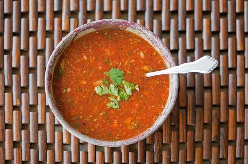 Harlan Kilstein's Completely Keto Gazpacho Soup