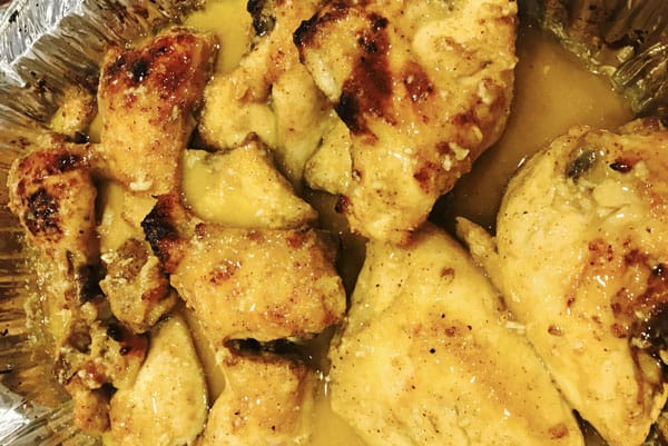 Harlan Kilstein's Completely Keto Vinegar, Mustard Garlic Chicken