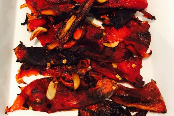 Photo of Harlan Kilstein's Completely Keto Roasted Red Peppers