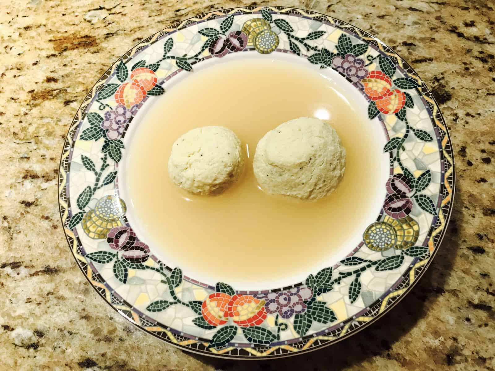 Photo of Harlan Kilstein's Keto Matzo Balls
