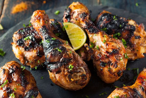 Photo of Harlan Kilstein's Keto Jamaican Jerk Chicken