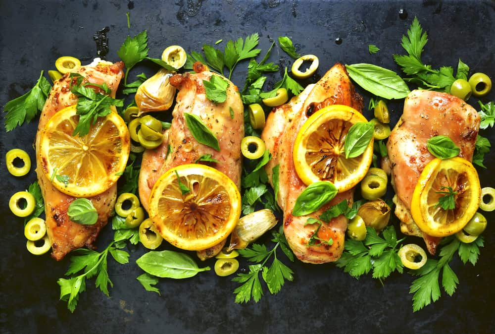 Photo of Harlan Kilstein's Keto Mediterranean Chicken