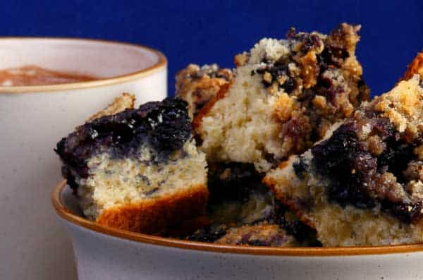 Photo of Harlan Kilstein's Completely Keto Moist Blueberry Cake