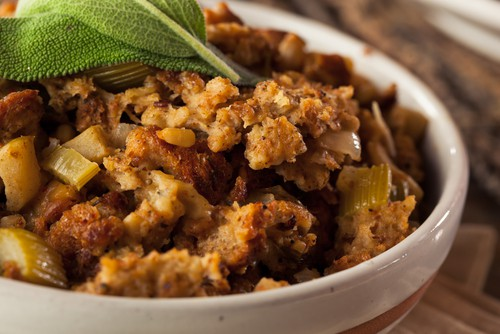 Photo of Harlan Kilstein's Completely Keto Mushroom And Celery Stuffing