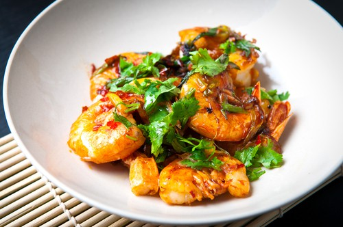 Photo of Harlan Kilstein's Mock Shrimp With Lemon and Cilantro