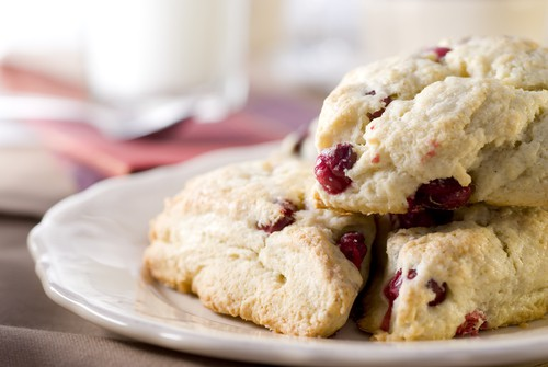 Harlan Kilstein's Completely Keto Holiday Cranberry Scones