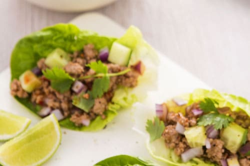 Photo of Harlan Kilstein's Completely Keto Easy Beef Lettuce Wraps