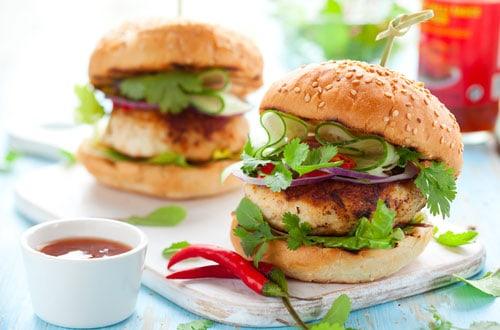 Photo of Harlan Kilstein's Completely Keto Grilled Turkey Burger