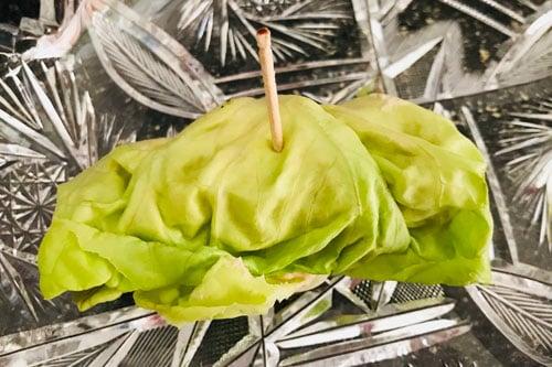Photo of Harlan Kilstein's Completely Keto Fat Bomb Lettuce Wraps