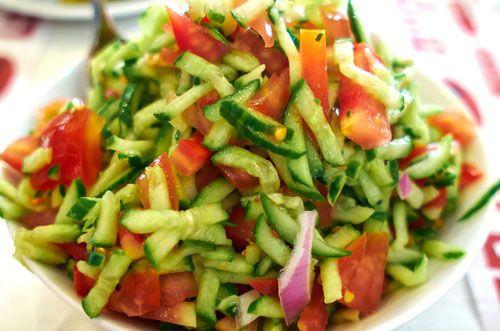 Photo of Harlan Kilstein Completely Keto Israeli Salad