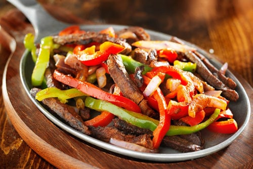 Photo of Harlan Kilstein's Completely Keto Beef Fajitas & Bell Peppers