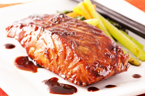 Photo of Harlan Kilstein's Completely Keto Instant Salmon in Caramel Sauce