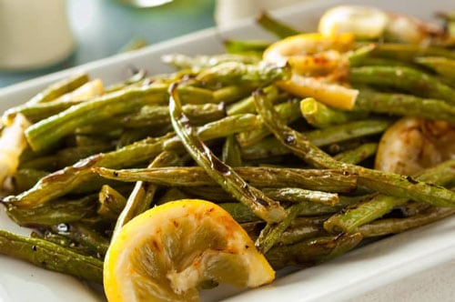 Photo of Harlan Kilstein's Completely Keto Wok Stir Fried String Beans