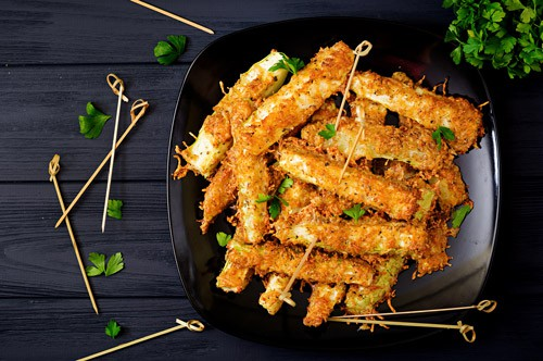 Photo of Harlan Kilstein's Completely Keto Air Fryer Zucchini Fries