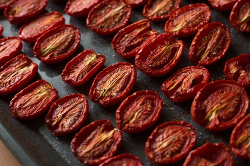 Photo of Harlan Kilstein's Completely Keto Italian Oven Dried Tomatoes