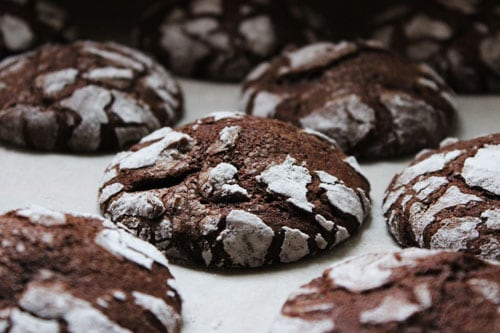 Photo of Harlan Kilstein's Completely Keto Chocolate Crinkle Cookies