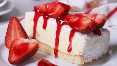 Photo of Harlan Kilstein's Strawberry Coconut Cheesecake (Non-Dairy)