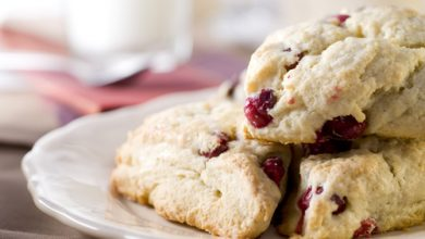 Photo of Harlan Kilstein's Completely Keto Holiday Cranberry Scones