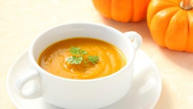 Photo of Harlan Kilstein's Completely Keto Pumpkin Soup
