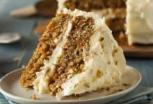 Photo of Harlan Kilstein's Completely Keto Grandma Harriet's Keto Carrot Cake