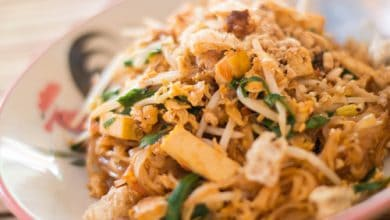 Photo of Harlan Kilstein's Completely Keto Chicken Pad Thai