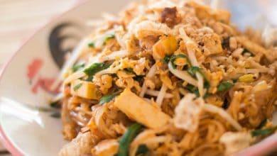Photo of Harlan Kilstein's Completely Keto Chicken Pad Thai