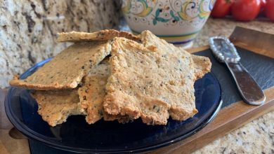 Photo of Chana Abehsera Kilstein's Speed Keto Crackers