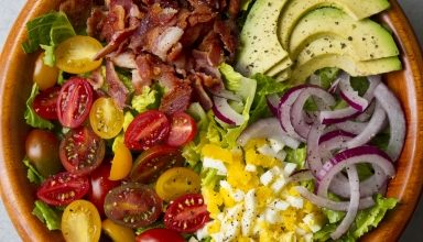 Photo of Harlan Kilstein's Completely Keto BLT Salad