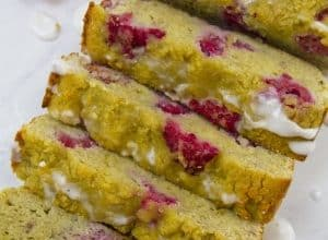 Photo of Harlan Kilstein's Completely Keto Lemon Raspberry Bread