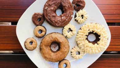 Photo of Basya Wuensch's Completely Keto Donut Trifecta