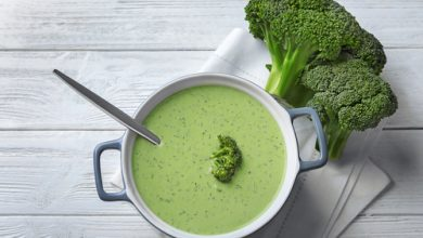 Photo of Harlan Kilstein's Completely Keto Broccoli Soup
