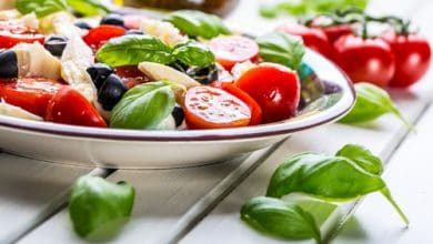 Photo of Harlan Kilstein's Completely Keto Caprese Salad