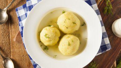 Photo of Harlan Kilstein's Completely Keto Matzoh Ball Soup