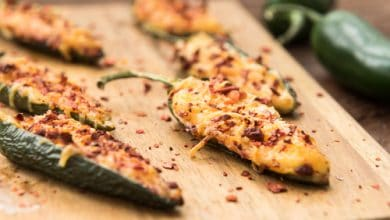 Photo of Harlan Kilstein's Completely Keto Jalapeño Poppers Baked Deliciousness