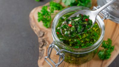 Photo of Harlan Kilstein's Completely Keto Argentinian Chimichurri Sauce
