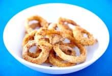 Photo of Harlan Kilstein's Completely Keto Baked Onion Rings