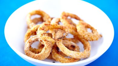 Photo of Harlan Kilstein's Completely Keto Baked Onion Rings