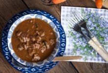 Photo of Harlan Kilstein's Completely Keto Beef and Mushroom Soup