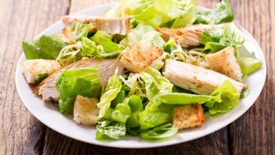 Photo of Harlan Kilstein's Completely Keto Chicken Caesar Salad