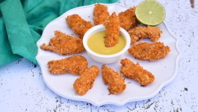 Photo of Harlan Kilstein's Completely Keto Coconut Chicken Nuggets