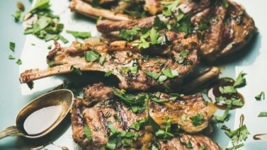 Photo of Harlan Kilstein's Completely Keto Lamb Chops with Parsley Lemon Marinade (SK)