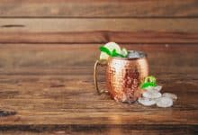 Photo of Harlan Kilstein's Completely Keto Moscow Mule with a Wine Twist