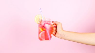 Photo of Harlan Kilstein's Completely Keto Pink Lemonade Mixer