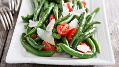 Photo of Harlan Kilstein's Completely Keto String Bean Parmesan Salad