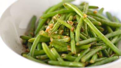 Photo of Harlan Kilstein's Completely Keto Garlic Green Beans (SK)